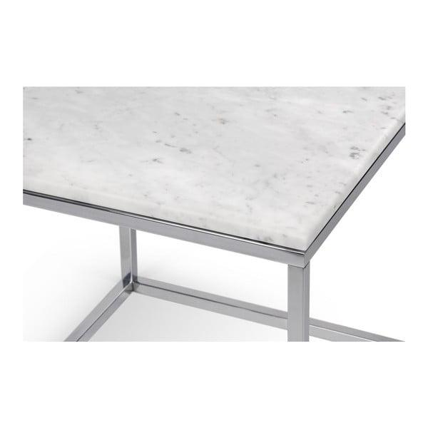 Biely stolík TemaHome Prairie Marble