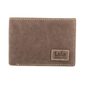 Kožené puzdro na vizitky Lois Brown, 7x11 cm