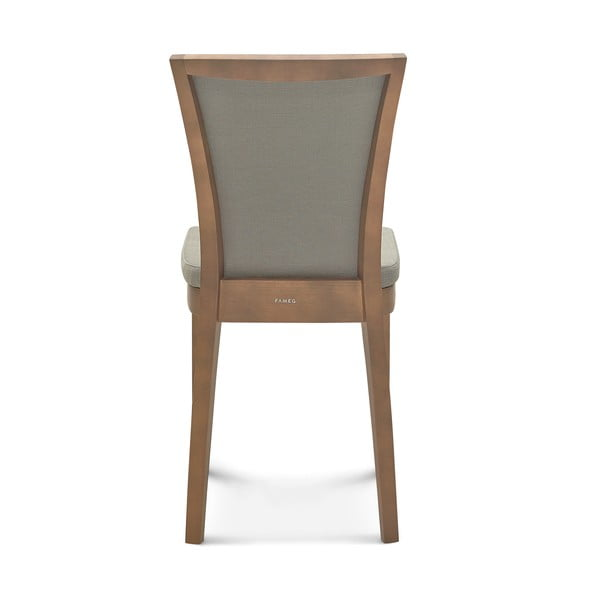 Sada 2 sivých stoličiek Fameg Brandi