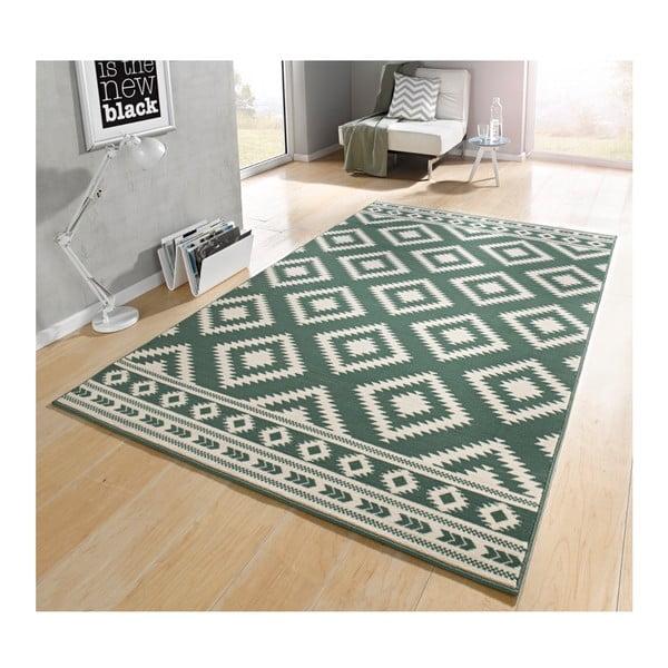 Zelený koberec Hanse Home Gloria Ethno, 160 x 230 cm