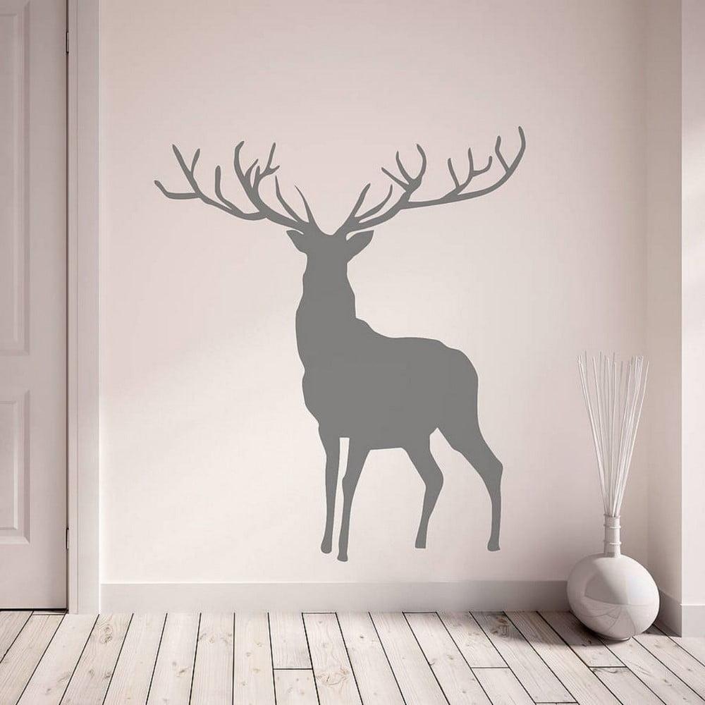 Dekoratívna nálepka na stenu Present
