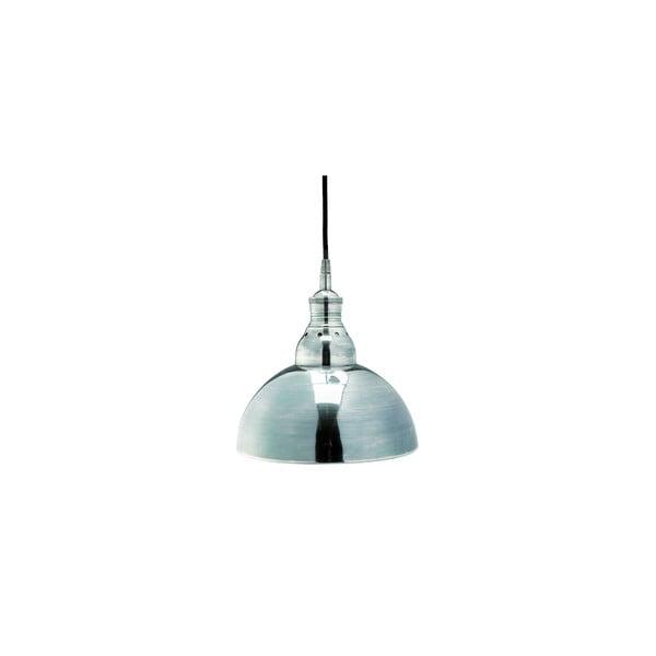 Strieborné závesné svietidlo Nordal Atic, Ø 25 cm