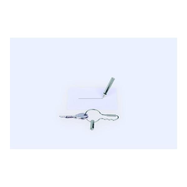 Spona na kľúče s ceruzkou DOIY Keyring Pen Silver