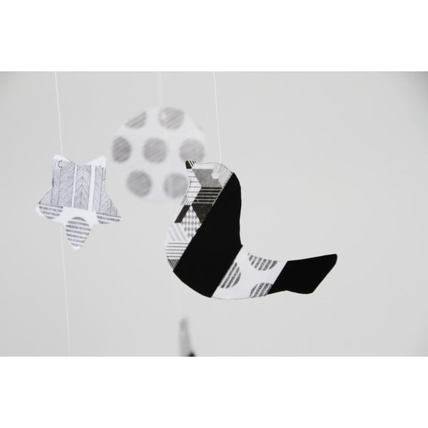 Washi páska Script Dot Monochrome