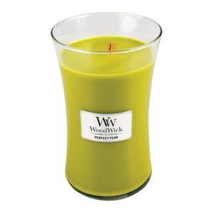 Sviečka s vôňou hrušiek Woodwick, doba horenia 130 hodín