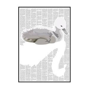Knižný plagát Škaredé kačiatko, 21x29,7 cm