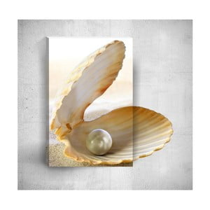 Nástenný 3D obraz Mosticx Seashell With Pearl, 40×60 cm