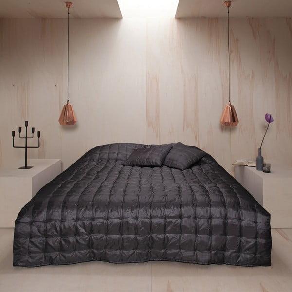 Prikrývka na posteľ Versailles Basalt, 220x270 cm