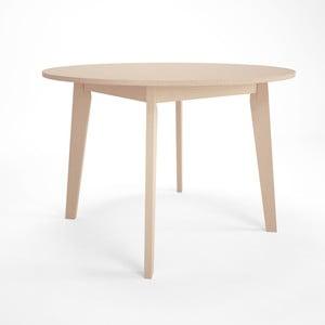 Rozkladací jedálenský stôl z brezového dreva Artemob Sandra