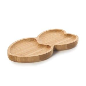 Bambusová servírovacia miska Bambum Heart