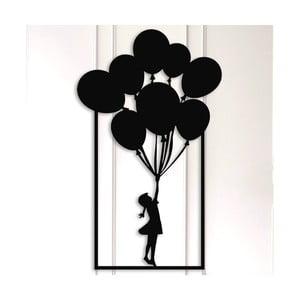 Kovová nástenná dekorácia Balloons