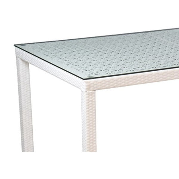 Stôl Toledo White, 160x90 cm