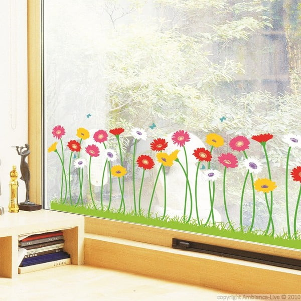 Sada samolepiek Ambiance Garden of Flowers