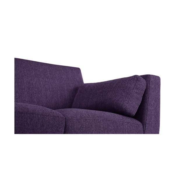 Pohovka pre dvoch Jalouse Maison Elisa, fialová