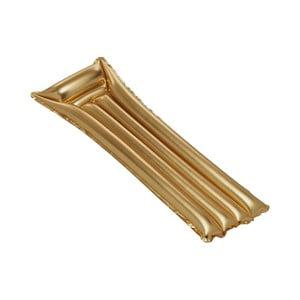 Nafukovacie ležadlo v zlatej farbe Sunvibes Dorée
