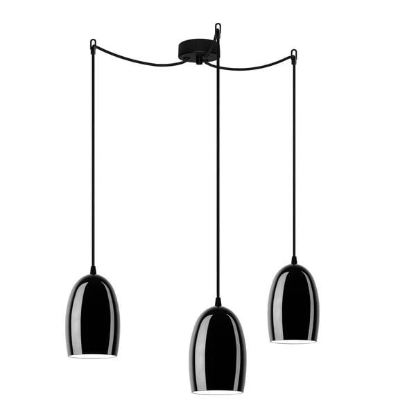 Trojité svetlo UME Elementary, black glossy/black/black