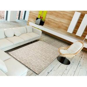 Hnedý koberec Universal Opus, 200 × 290 cm