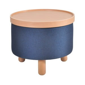 Modrá stolička Garageeight Molde s odnímateľným vrchom, veľkosť L