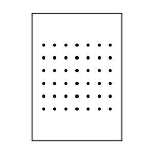 Plagát Imagioo Dots, 40×30 cm