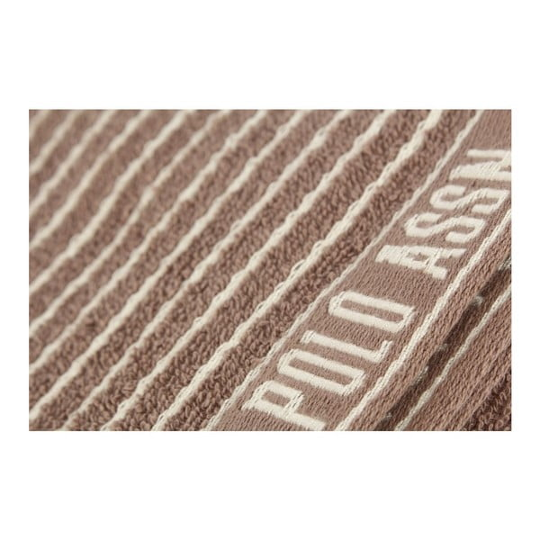 Sada 2 utierok U.S. Polo Assn. Sturgis Brown, 50x70 cm