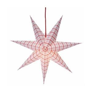 Závesná svietiaca hviezda Lisa, 54 cm