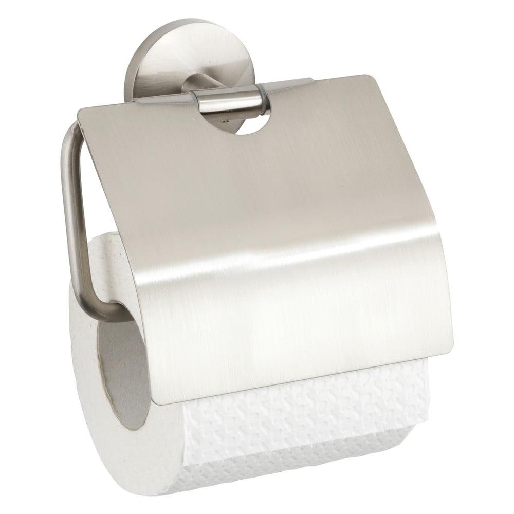 Držiak na toaletný papier z liateho zinku Wenko Cuba Cover