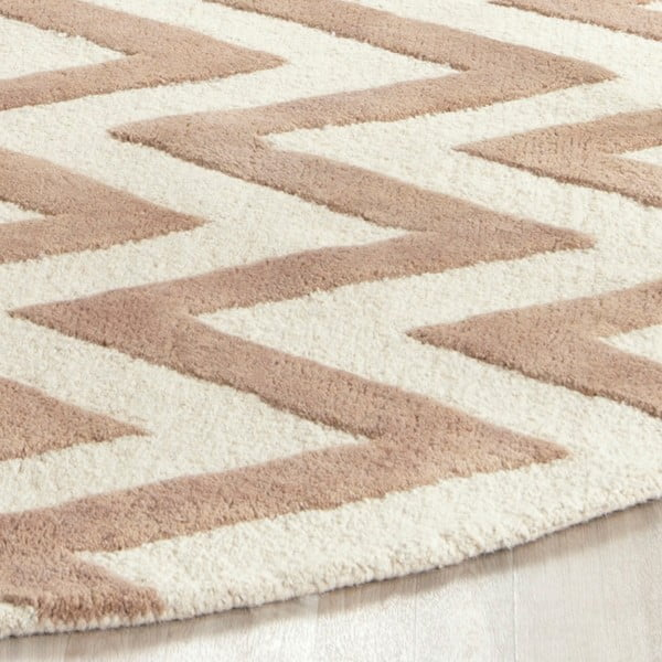 Vlnený koberec Stella Beige, 182x274 cm