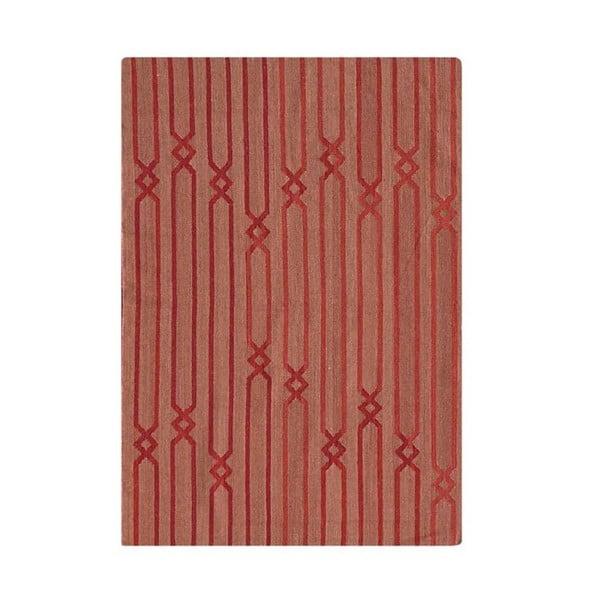 Ručne tkaný koberec Kilim D no.758, 155x240 cm