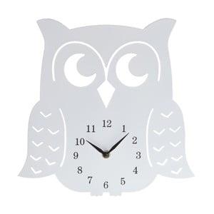 Drevené hodiny Clock Owl, 30 cm