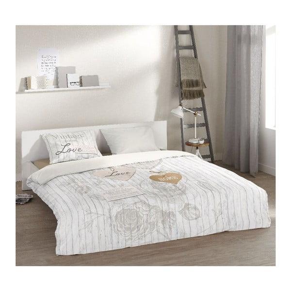 Obliečky Vintage White, 200x200 cm