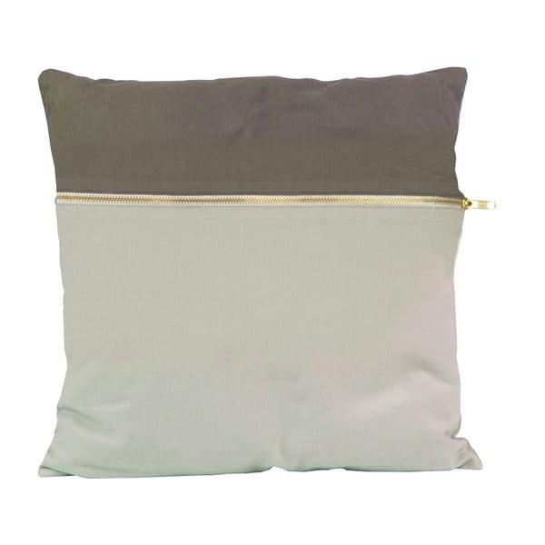 Vankúš PT LIVING Duo Grey, 45x45 cm