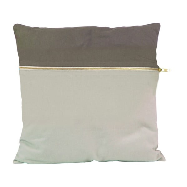 Vankúš Present Time Duo Grey, 45x45 cm