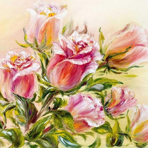 Obraz Šťastné ruže, 60x60 cm