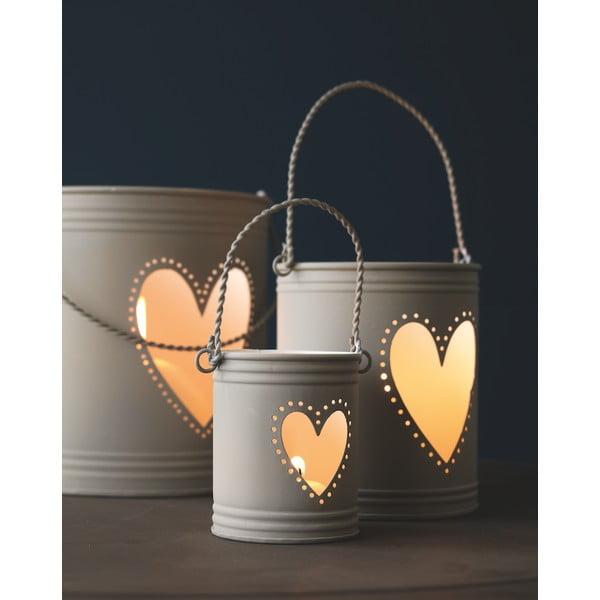 Sada 3 lampášov Bianco Grigio