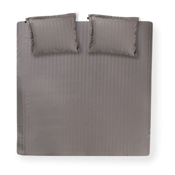 Sivé obliečky Linea Cement, 240x200 cm
