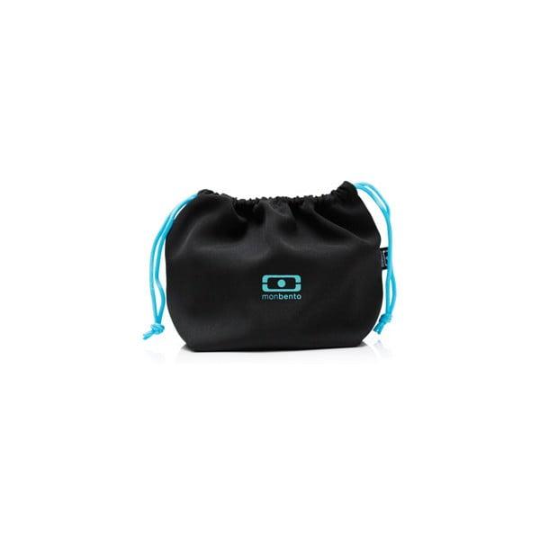 Vrecko na desiatový box Monbento Black/Blue