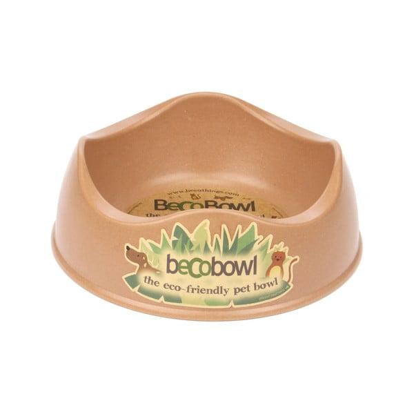 Miska pre psíkov/mačky Beco Bowl 21 cm, hnedá