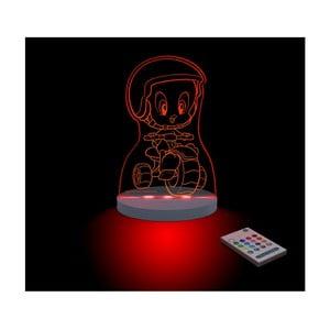 Detské LED nočné svetielko Tweety Moto