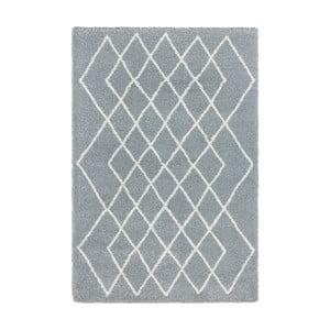 Modrý koberec Elle Decor Passion Bron, 80×150 cm