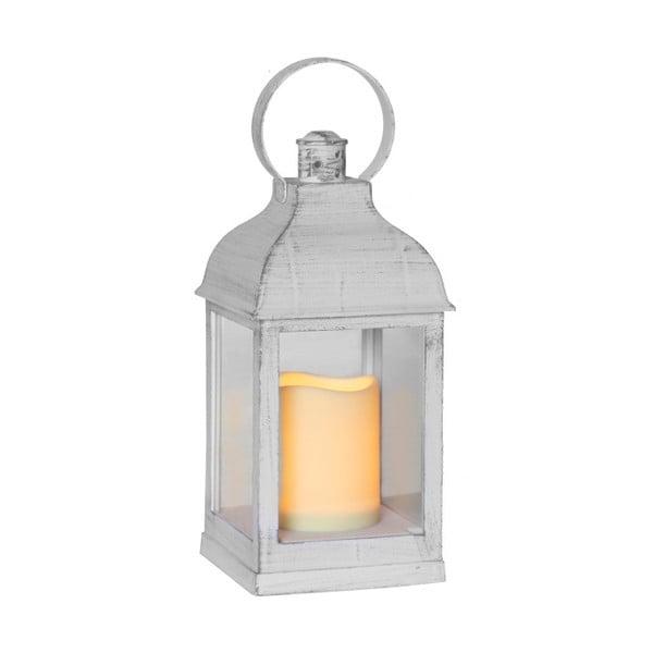 Sada šiestich LED lampášov v bielej a černej farbe