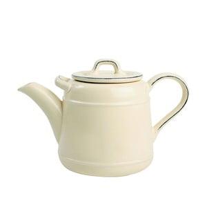 Krémová porcelánová čajová kanvica T&G Woodware Pride of Place, 1,5 l