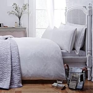 Obliečky Jacquard White, 135x200 cm