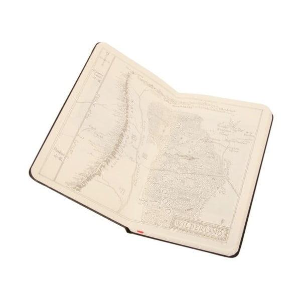 Zápisník Moleskine Hobbit, 9x14 cm