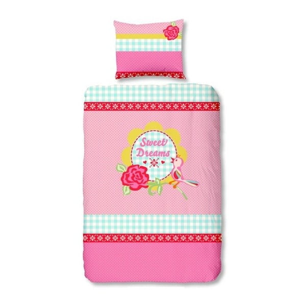 Detské obliekčy Sweet Dreams Light Pink, 140x200 cm