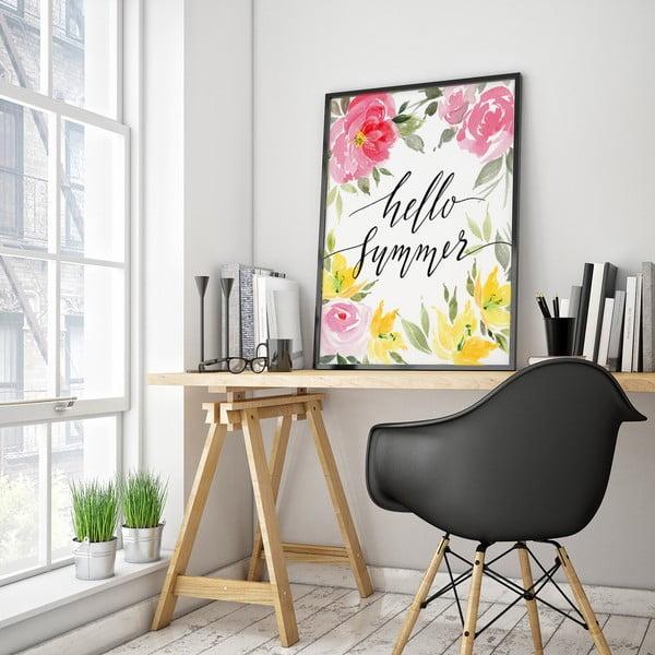 Plagát Hello Summer, 30 x 40 cm