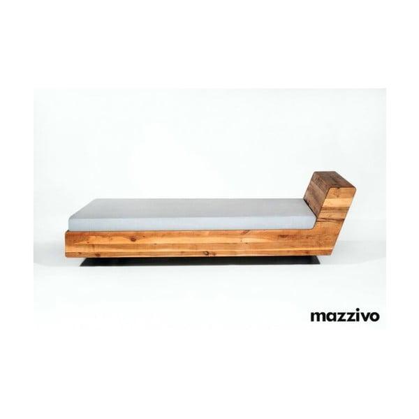 Posteľ Mazzivo Lugo z jelšového dreva Mazzivo Lugo, 160 x 200 cm