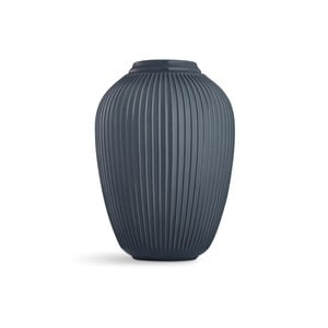 Antracitová voľne stojacia kameninová váza Kähler Design Hammershoi, výška 50 cm