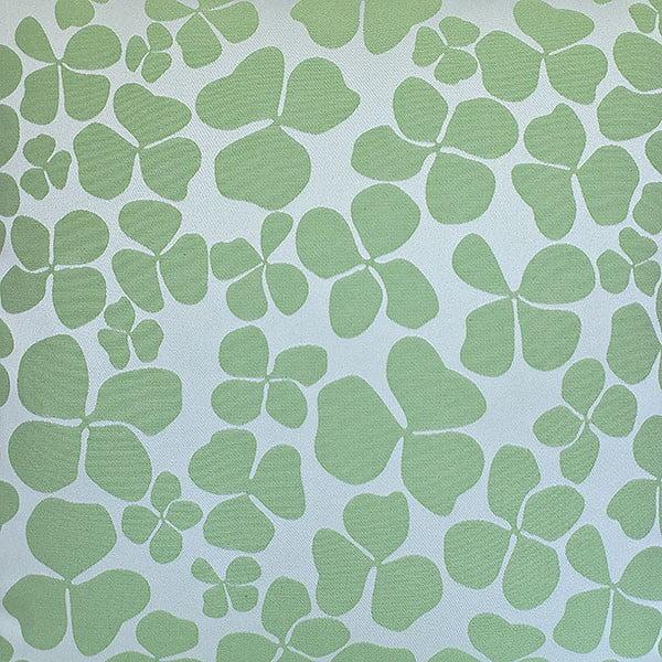 Vankúš s výplňou Dark Green Flowers, 50x50 cm