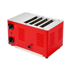 Dizajnový toaster Rowlett Rutlands Four, Traffic Red