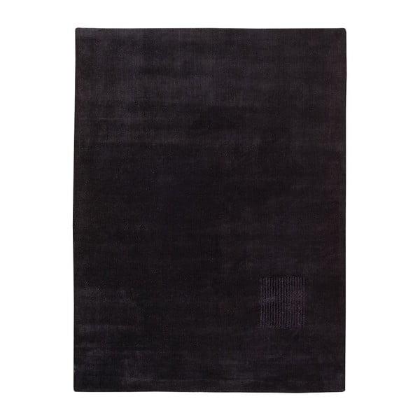 Koberec Aria Black, 140x200 cm